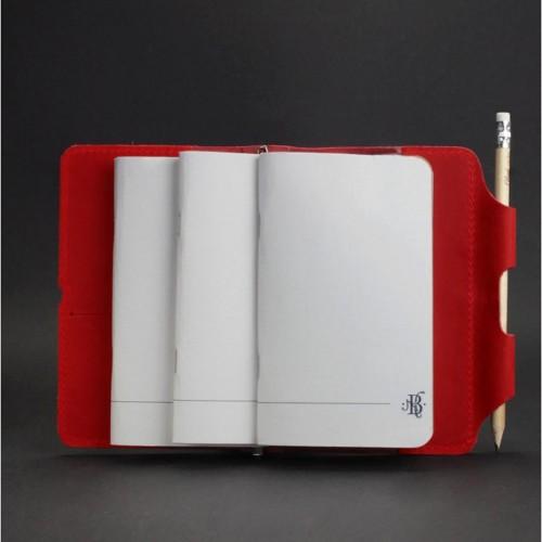 Кожаный софтбук 3.0 Коралл-2