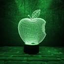 "3D светильник-ночник ""Apple"" -4"