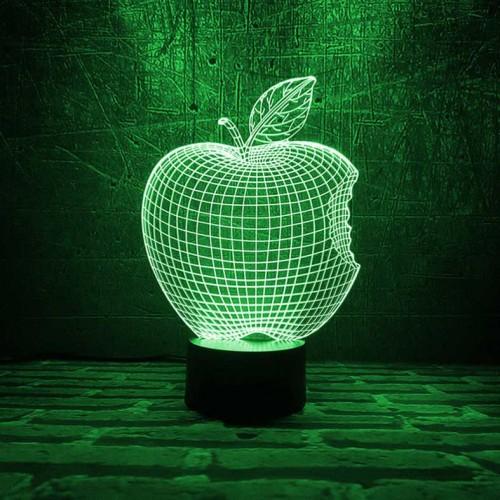 "3D светильник ""Apple""-4"