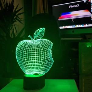 "3D светильник ""Apple""-1"