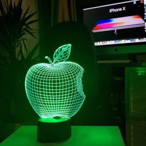 "3D светильник-ночник ""Apple"""