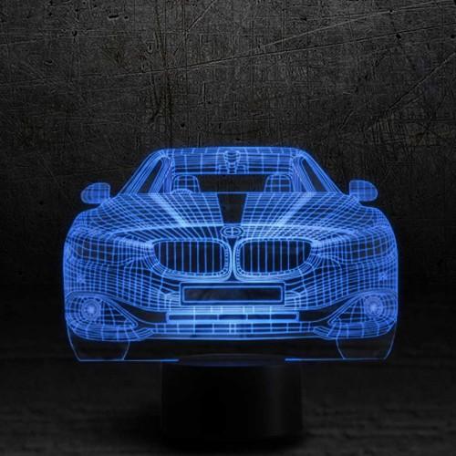 """3D светильник-ночник """"BMW"""""""