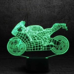 """3D светильник """"Мотоцикл""""-1"""