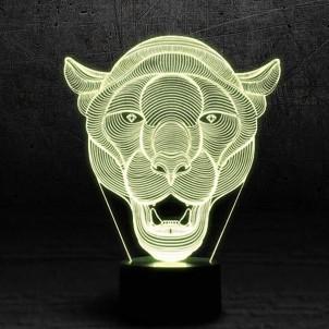 """3D светильник """"Пума""""-1"""