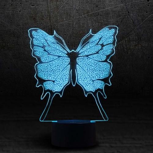 "3D светильник ""Бабочка""-1"