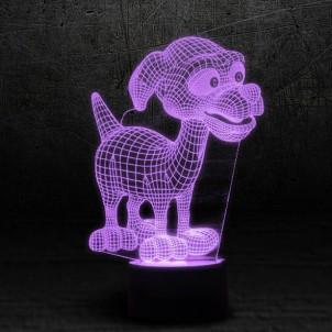 """3D светильник """"Дружок""""-1"""