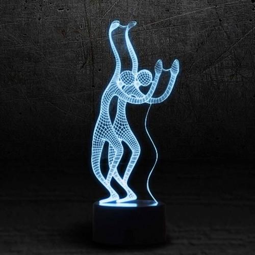 """3D светильник """"Грация""""-1"""