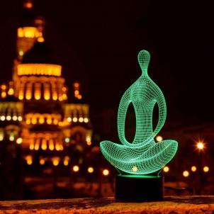 """3D светильник """"Медитация""""-1"""