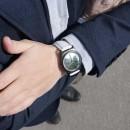 """Набор """"Часы 6 seconds + кожаный ремешок"""" Зеркало WB-6"""