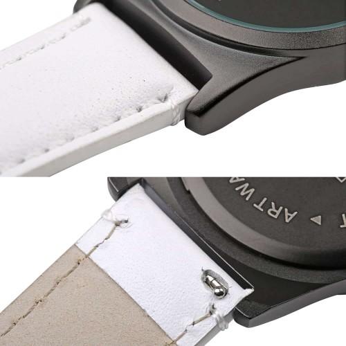 """Набор """"Часы 6 seconds + кожаный ремешок"""" Зеркало WB-3"""