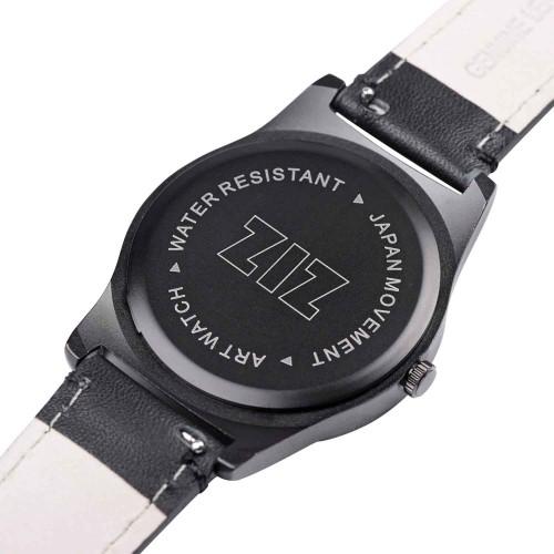 """Набор """"Часы 6 seconds + кожаный ремешок"""" Белые BW-4"""