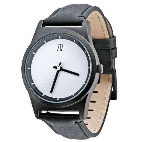 """Набор """"Часы 6 seconds + кожаный ремешок"""" Белые BW-7"""