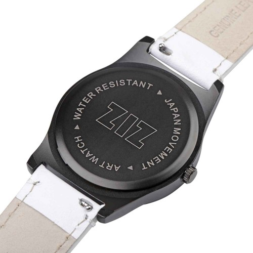 """Набор """"Часы 6 seconds + кожаный ремешок"""" Белые WB-2"""