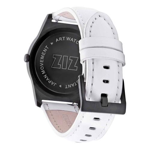 """Набор """"Часы 6 seconds + кожаный ремешок"""" Белые WB-3"""