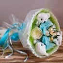 """Букет из мягких игрушек и конфет """"Весенний""""-5"""