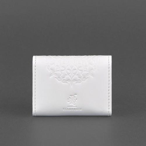 Кард кейс 3.0 (гармошка) Белый с мандалой-2