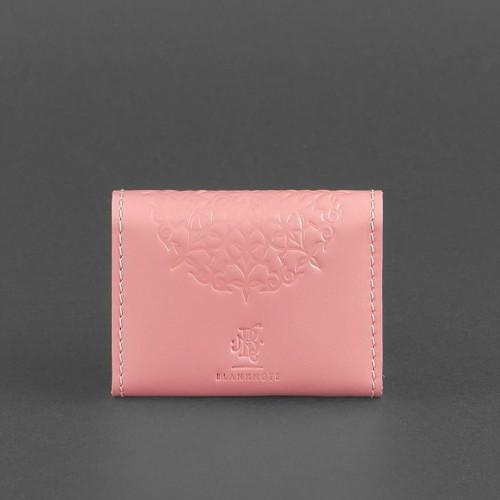 Кард кейс 3.0 (гармошка) Розовый с мандалой-2