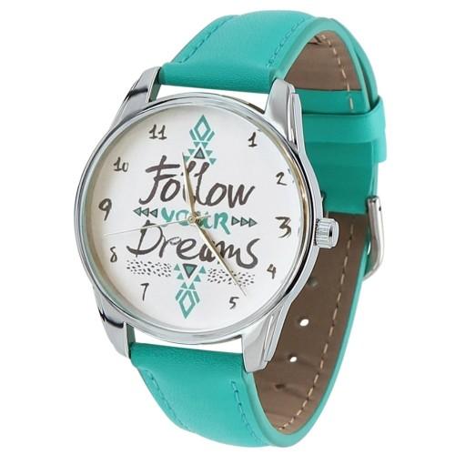 """Часы наручные """"Follow your dreams"""""""