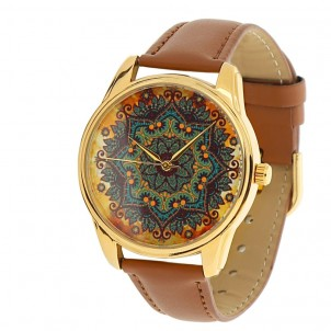"""Часы наручные """"Золотые узоры"""" Gold-1"""
