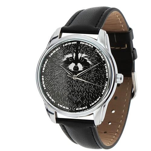 """Наручные часы """"Енот"""" с дополнительным ремешком в комплекте"""