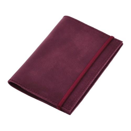 Кожаная обложка на паспорт 1.0 Виноград-5