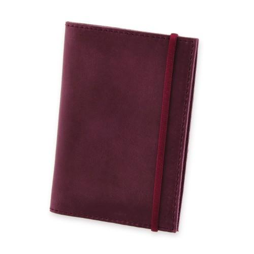 Кожаная обложка на паспорт 1.0 Виноград