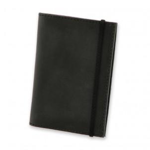 Кожаная обложка на паспорт 1.0 Графит-1