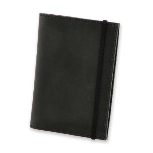 Кожаная обложка на паспорт 1.0 Графит