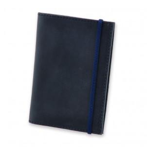 Кожаная обложка на паспорт 1.0 Ночное небо-1