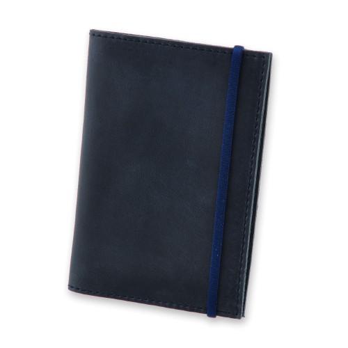 Кожаная обложка на паспорт 1.0 Ночное небо