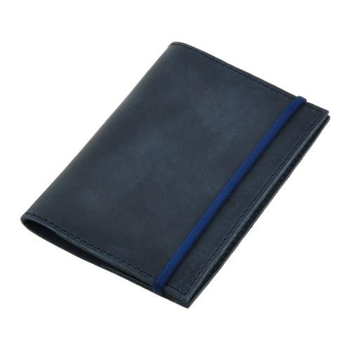 Кожаная обложка на паспорт 1.0 Ночное небо-5