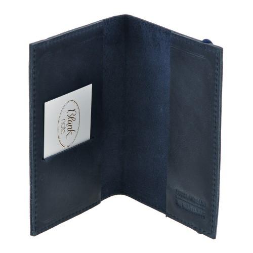 Кожаная обложка на паспорт 1.0 Ночное небо-2
