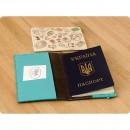 Кожаная обложка на паспорт 1.0 Орех-тиффани-2