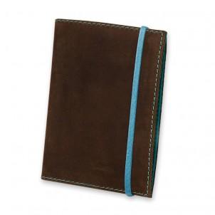 Кожаная обложка на паспорт 1.0 Орех-тиффани-1