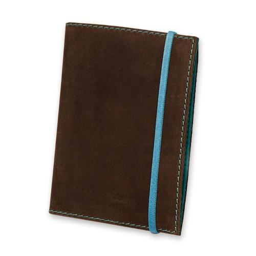 Кожаная обложка на паспорт 1.0 Орех-тиффани