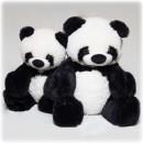 Мишка Панда с сердцем 77 см.-2