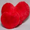 Плюшевая подушка сердце 50 см.-3