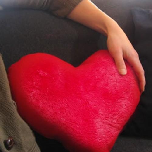Плюшевая подушка сердце 50 см.-2
