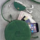 Кожаная сумка Бон-Бон Изумруд-4