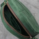 Кожаная сумка Бон-Бон Изумруд-3