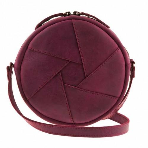 Кожаная сумка Бон-Бон Виноград-5