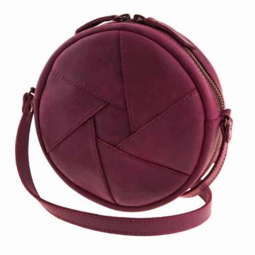 Кожаная сумка Бон-Бон Виноград-2