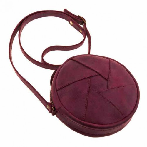 Кожаная сумка Бон-Бон Виноград-7