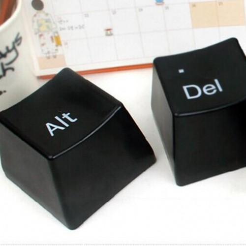 """Оригинальный набор чашек """"Кнопки Ctrl Alt Del""""-2"""