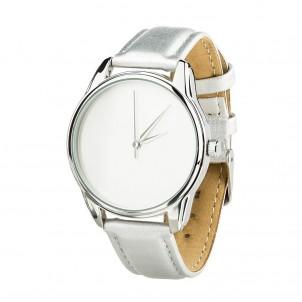 Часы наручные Минимализм Металлик Серый Серебро + дополнительный ремешок-1