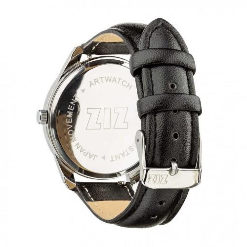 Часы наручные Минимализм Угольно-черный Серебро + дополнительный ремешок-4
