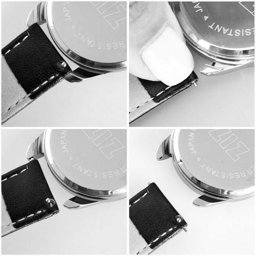 Часы наручные Минимализм Металлик Серый Серебро + дополнительный ремешок-2