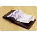 Портмоне 1.0 (зажим для денег) Орех-3
