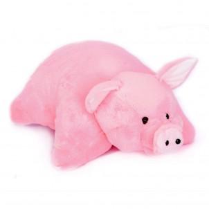 Плюшевая игрушка-подушка Свинка 55 см.-1