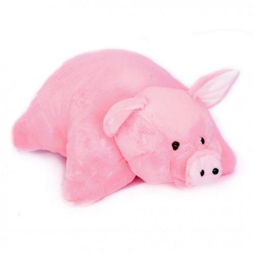 Плюшевая игрушка-подушка Свинка 45 см.-2